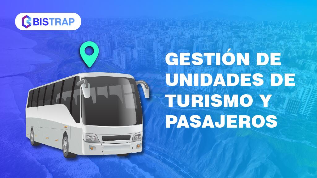 Gestión de  unidades de turismo y Pasajeros